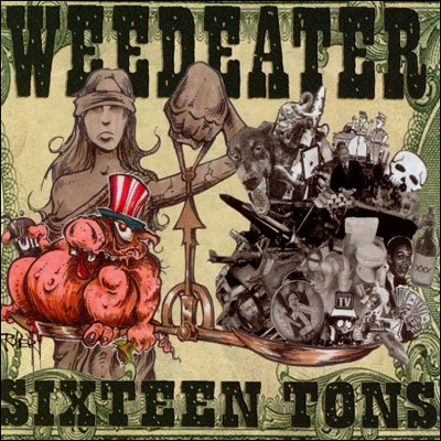 WEEDEATER Sixteen Tons - Vinyl LP (oxblood)