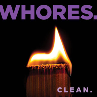 WHORES. Clean - Vinyl LP (black)