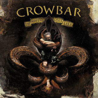 CROWBAR The Serpent Only Lies - Vinyl LP (transparent green) + CD