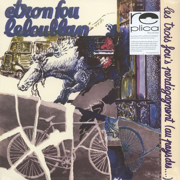 ETRON FOU LELOUBLAN Les Trois Fou's Perdégagnent (Au Pays Des…) – Vinyl LP (black)