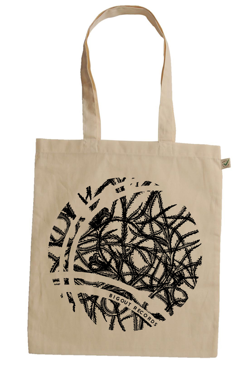 Bigoût Records WHITE Tote Bag