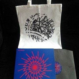 UKANDANZ Awo LP + Bigoût Records white totebag