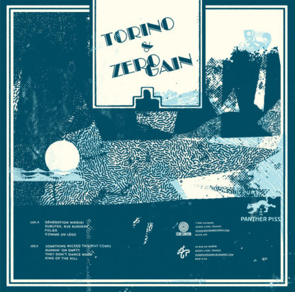 TORINO / ZERO GAIN Pure Panther Piss split LP