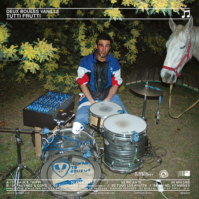 DEUX BOULES VANILLE Tutti Frutti - Vinyl LP