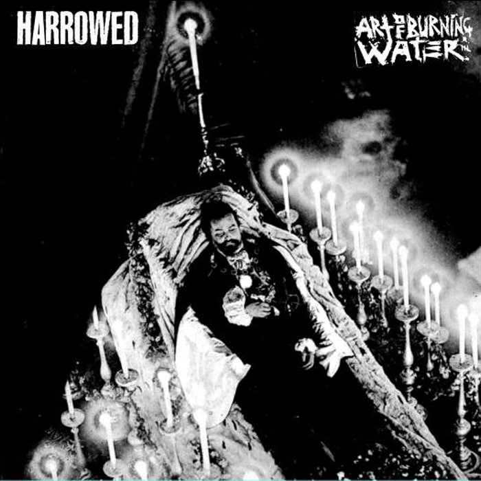 "HARROWED / ART OF BURNING WATER Split 7"" - vinyl 7"""