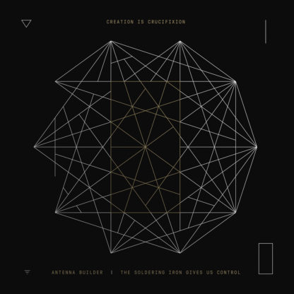 CREATION IS CRUCIFIXION Antenna Builder / Rerecorded Splits + Live In Geneva - Vinyl 2xLP