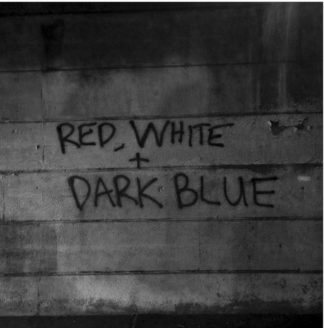 DARK BLUE Red White - Vinyl LP