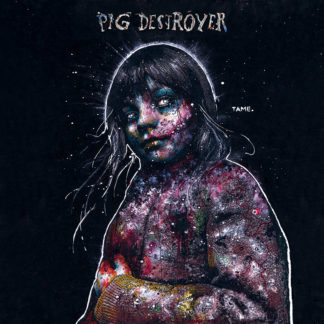 PIG DESTROYER Painter of Dead Girls - Vinyl LP (grey and pruple swirl)