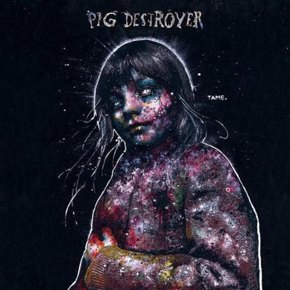 PIG DESTROYER Painter of Dead Girls - Vinyl LP (grey and pruple swirl)