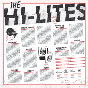 THE HI-LITES s/t - Vinyl LP (black)