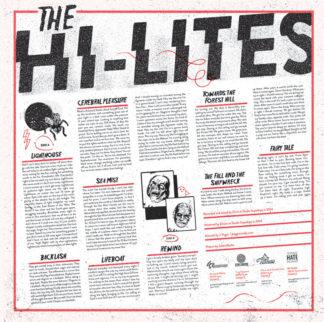 THE HI-LITES s/t - Vinyl LP (black)