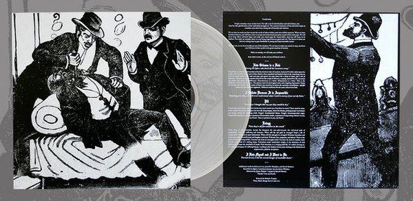 THOU The Sacrifice - Vinyl LP (180gram clear colored vinyl)