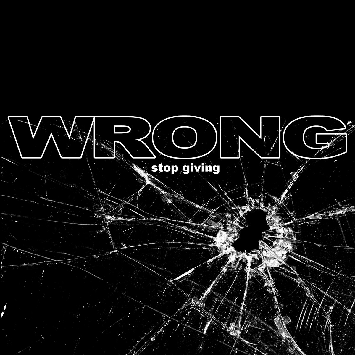 WRONG Stop Giving EP - Vinyl LP