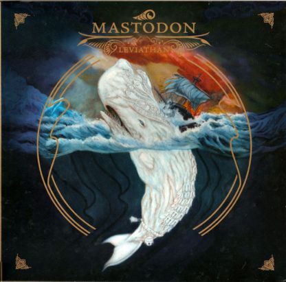 MASTODON Leviathan - Vinyl LP (Royal Blue and Bone White)