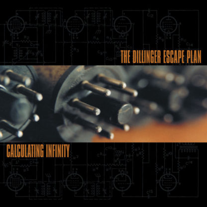 THE DILLINGER ESCAPE PLAN Calculating Infinity - Vinyl LP (orange splatter)