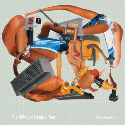 THE DILLINGER ESCAPE PLAN Miss Machine - Vinyl LP (coke bottle green white spinner)