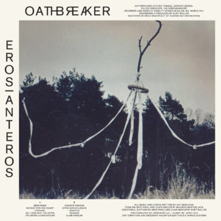 OATHBREAKER Eros|Anteros - Vinyl LP (half aqua blue half clear with black splatter)