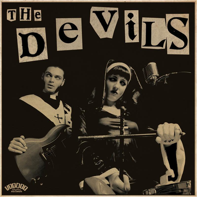 THE DEVILS Sin, You Sinners! - Vinyl LP (black) + CD