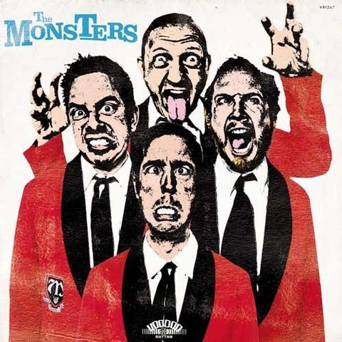 THE MONSTERS ...Pop Up Yours! - Vinyl LP (black)