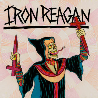 IRON REAGAN Crossover Ministry – Vinyl LP (black)