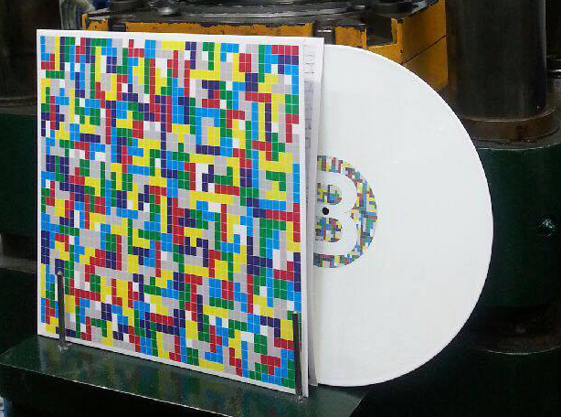 HOLLYWOODFUN DOWNSTAIRS Tetris - Vinyl LP (white) 2