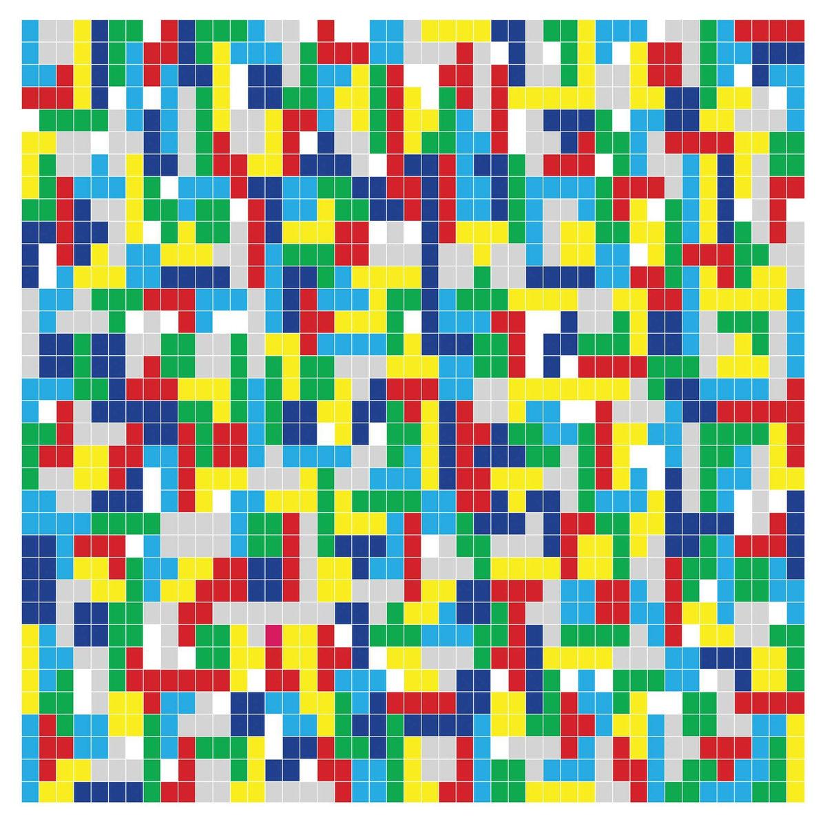HOLLYWOODFUN DOWNSTAIRS Tetris – Vinyl LP (white)