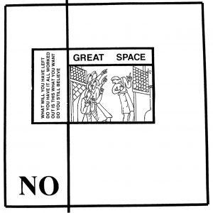 NO Great Space – Vinyl LP (black)