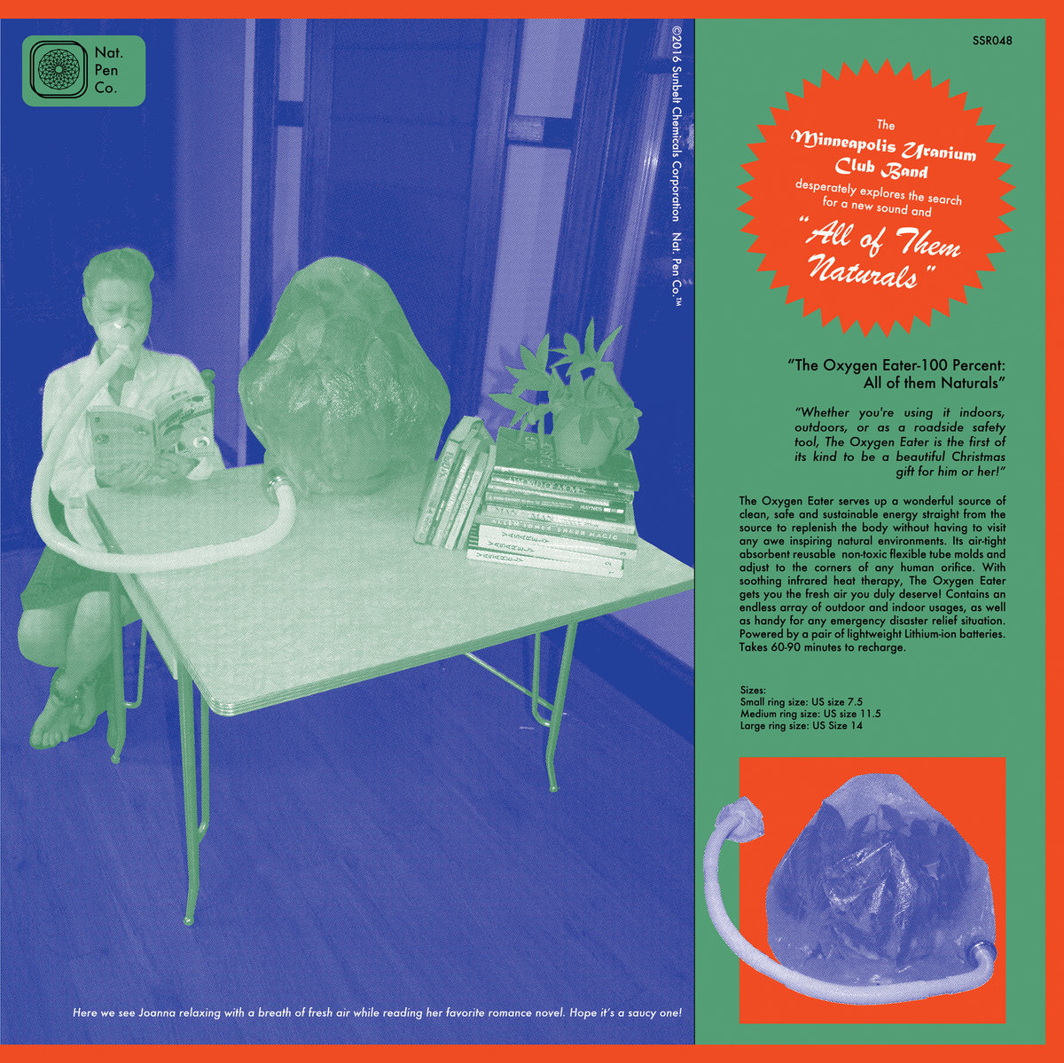 THE MINNEAPOLIS URANIUM CLUB All Of Them Naturals – Vinyl LP (green)