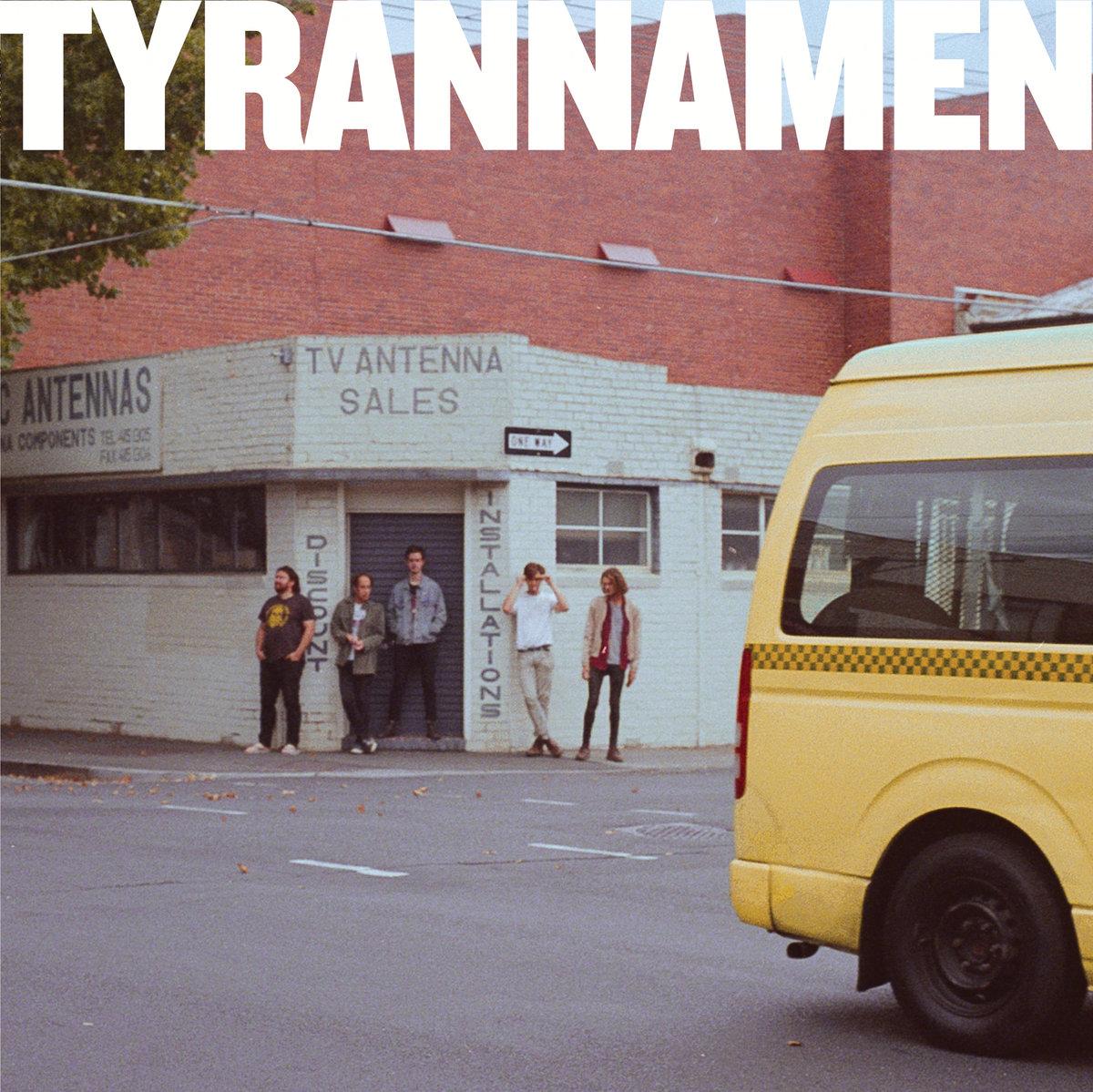 TYRANNAMEN s/t - Vinyl LP (blue)