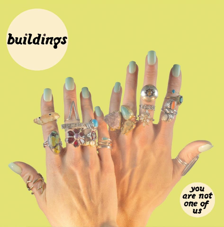 Pre-order BUILDINGS You Are Not One Of Us – Vinyl LP (white splatter | black) / CD