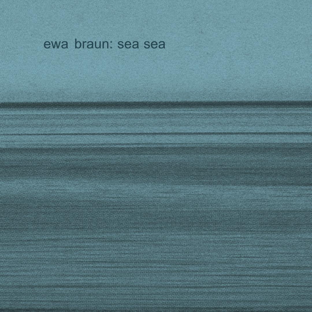 EWA BRAUN Sea Sea – Vinyl LP (transparent blue)