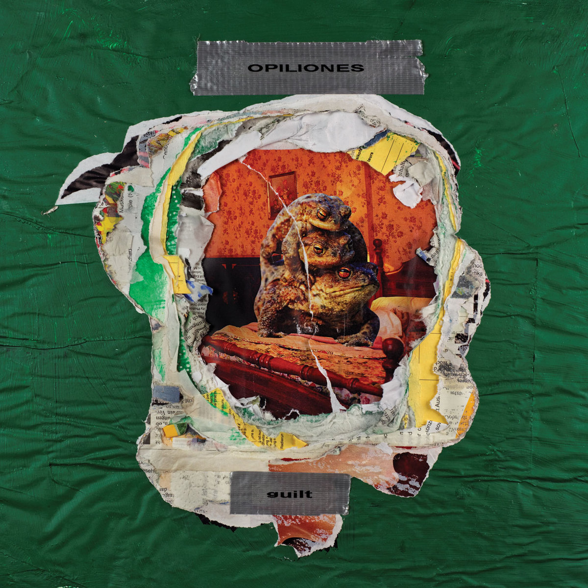 OPILIONES Guilt – Vinyl LP (transparent yellow)