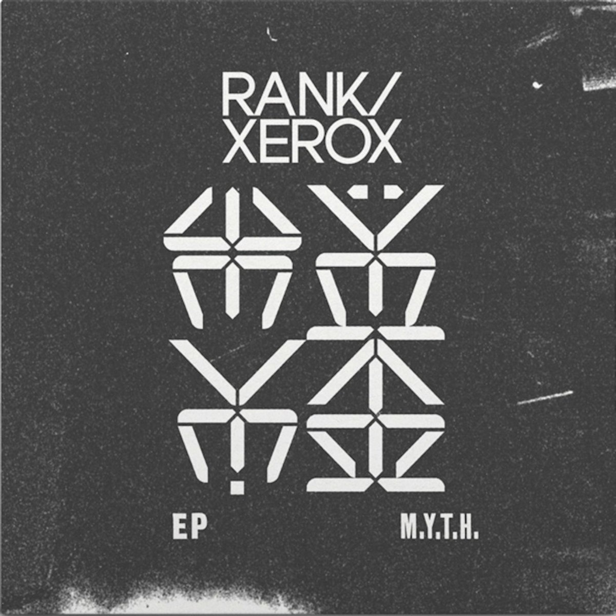RANK / XEROX m.y.t.h. - Vinyl LP (black)