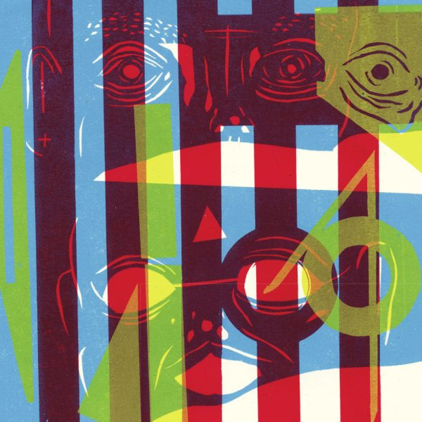 USA NAILS Shame Spiral - Vinyl LP (opaque cyan | black)