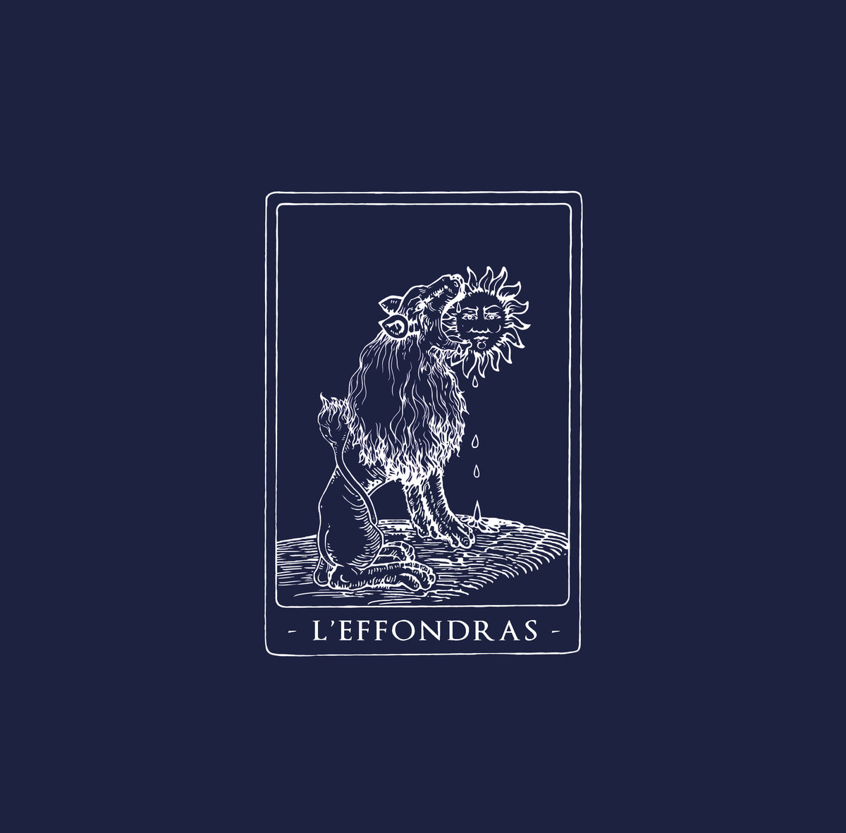 L'EFFONDRAS s/t - Vinyl LP (black)