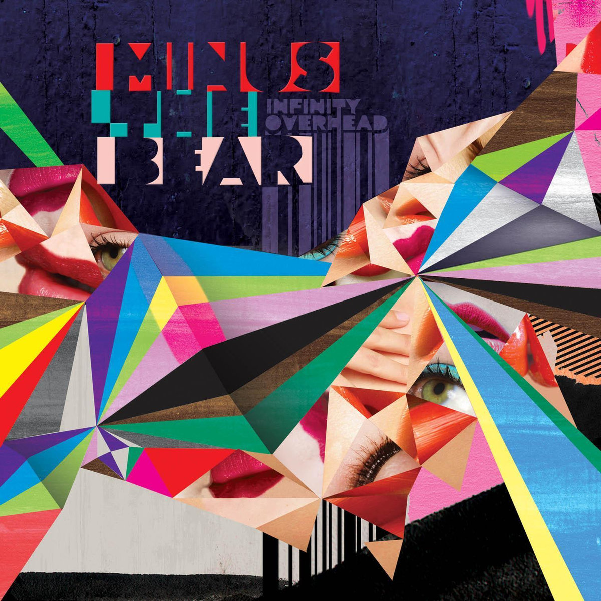 MINUS THE BEAR Infinity Overhead - Vinyl LP (clear)
