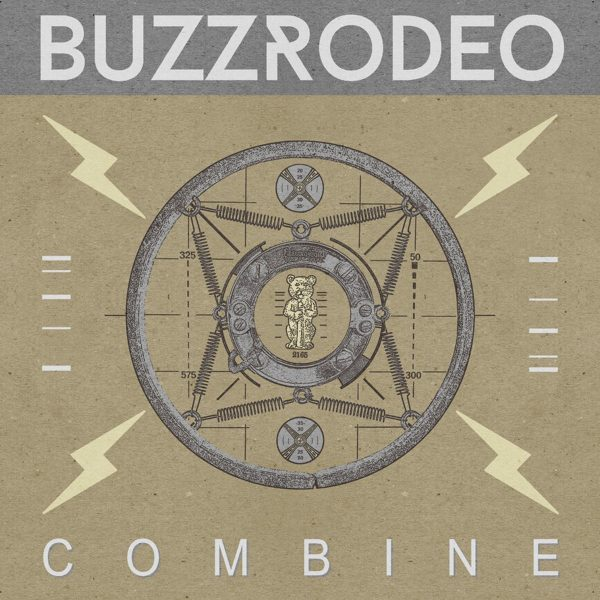 BUZZ RODEO Combine - Vinyl LP (red with black splatter) + CD