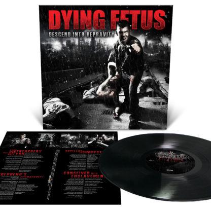 DYING FETUS Descend Into Depravity - Vinyl LP (black)