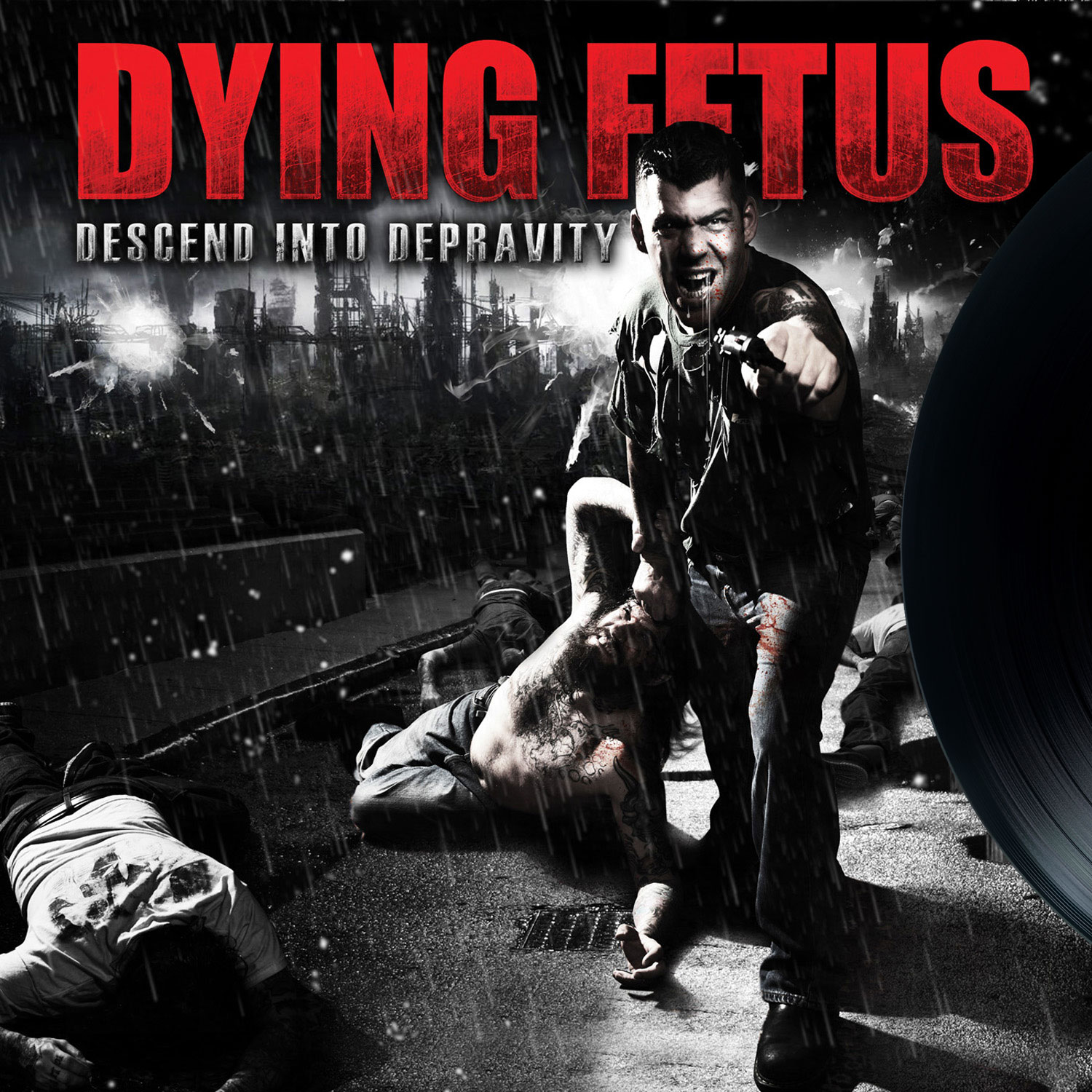 DYING FETUS Descend Into Depravity - Vinyl LP (black)