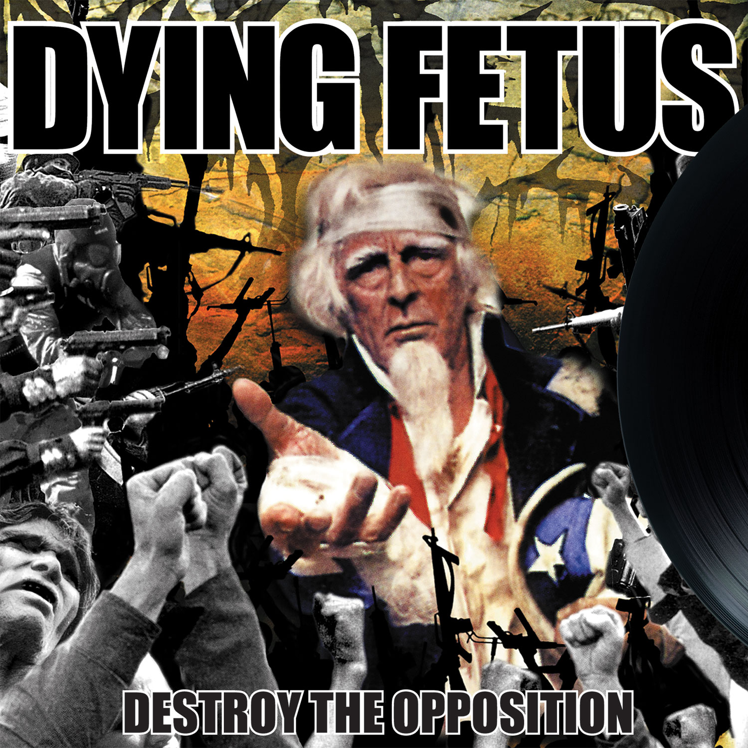 DYING FETUS Destroy The Opposition - Vinyl LP (black)