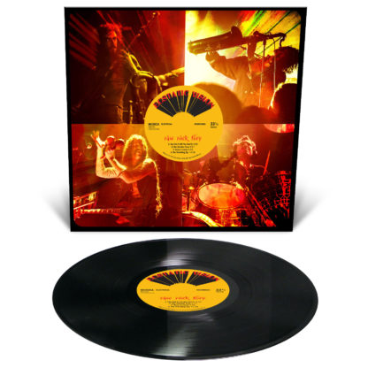 ECSTATIC VISION Raw Rock Fury - Vinyl LP (black)