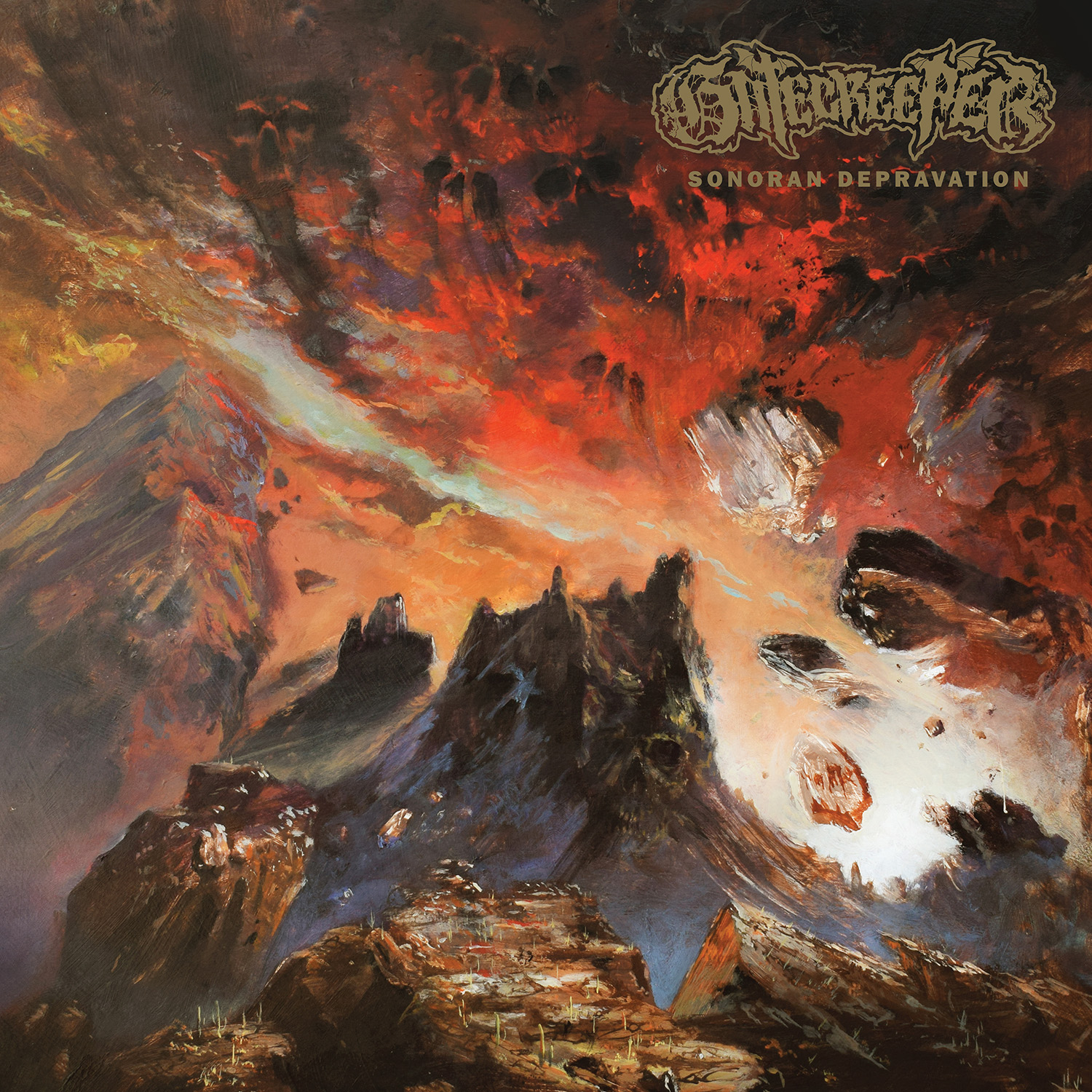 GATECREEPER Sonoran Depravation - Vinyl LP (green)
