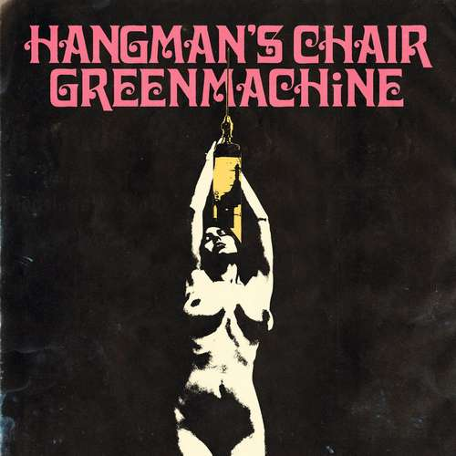 HANGMAN'S CHAIR / GREENMACHINE Split - Vinyl LP (pink)