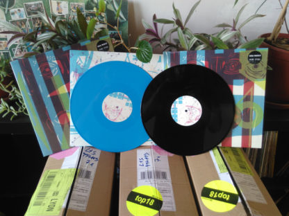 USA NAILS Shame Sipral - Vinyl LP (opaque cyan | black)