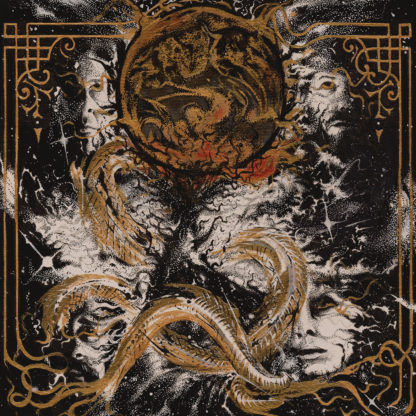 KING WOMAN Created in the Image of Suffering - Vinyl LP (translucent gold with bone white, black and red splatter)
