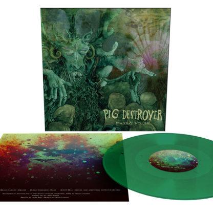 PIG DESTROYER Mass & Volume - Vinyl LP (transparent green)