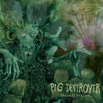 PIG DESTROYER Mass & Volume - Vinyl LP (transparent green)