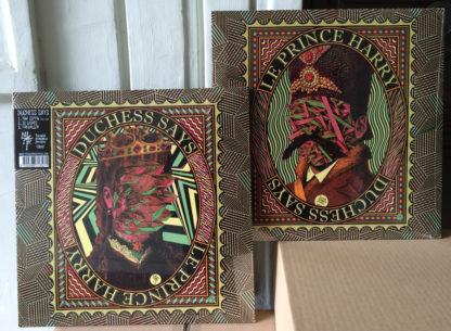 DUCHESS SAYS / LE PRINCE HARRY Split – Vinyl LP (black)