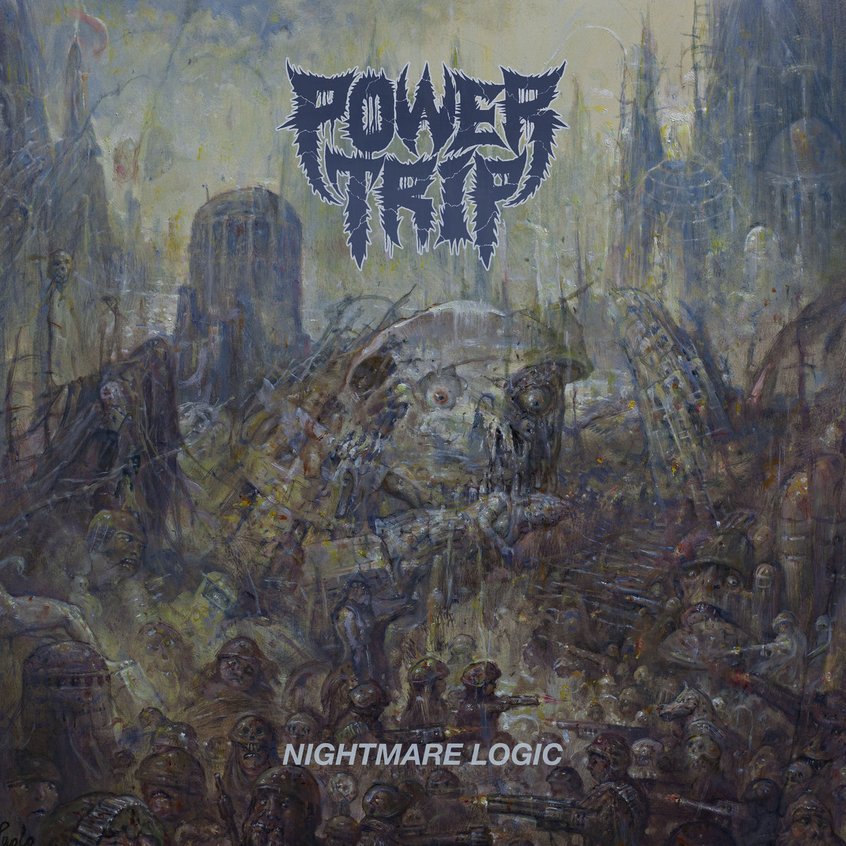 POWER TRIP Nightmare Logic – Vinyl LP (black)