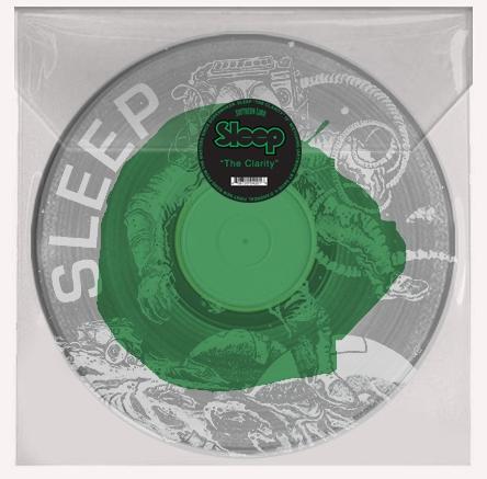 SLEEP The Clarity – Vinyl LP (clear with green)